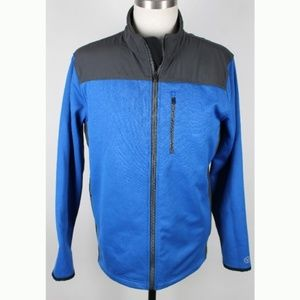 American Eagle Outfitters Softshell Jacket LG Blue